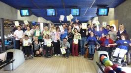 Českopolský bowling 22.4.2016 v hronovském Doku