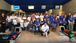 Turnaj v bowlingu v hronovském DOKU 26.4.2017