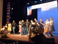 Účast na divadelním festivalu, náchodský Beránek, vystoupení Pomáda 13.5.2016