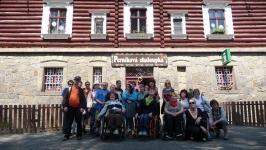 Výlet na Kunětickou Horu a plavba na parníku 11.5.2016