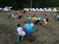 Cesta na Lotří tábor