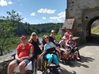Pobyt pro vozíčkáře u Slapské přehrady 29.6.-3.7.2020