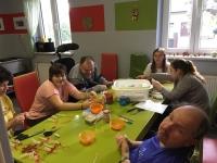 Výtvarné činnosti a dílny ve stacionáři