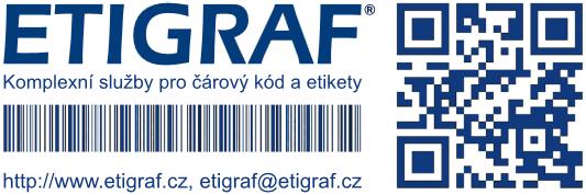 Tiskárny etiket, čárový kód, snímače | ETIGRAF