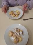 Vaření - tvarohové knedlíky s jablky